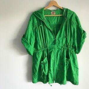 • Free People Green Jacket •